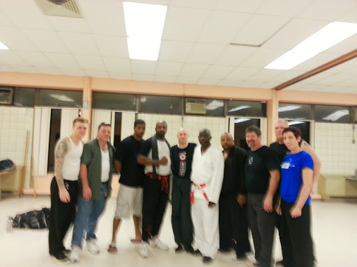 May 20, 2014 visit to Sensei Jules & Jamal's shorin-ryu school