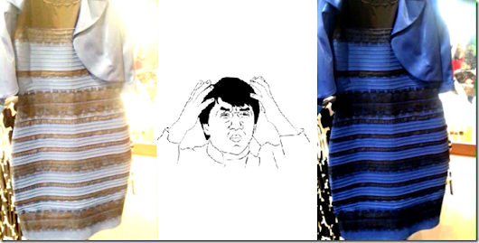 #thedress Debate breaks the Internet. Blue and Black or White and Gold?