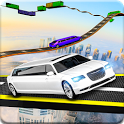 Limousine Impossible Sky Track Simulation icon