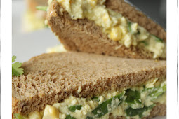 Corn Salad Sandwich
