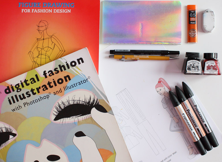 fashion design illustration drawing
