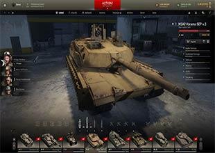 لعبة دبابة حربية