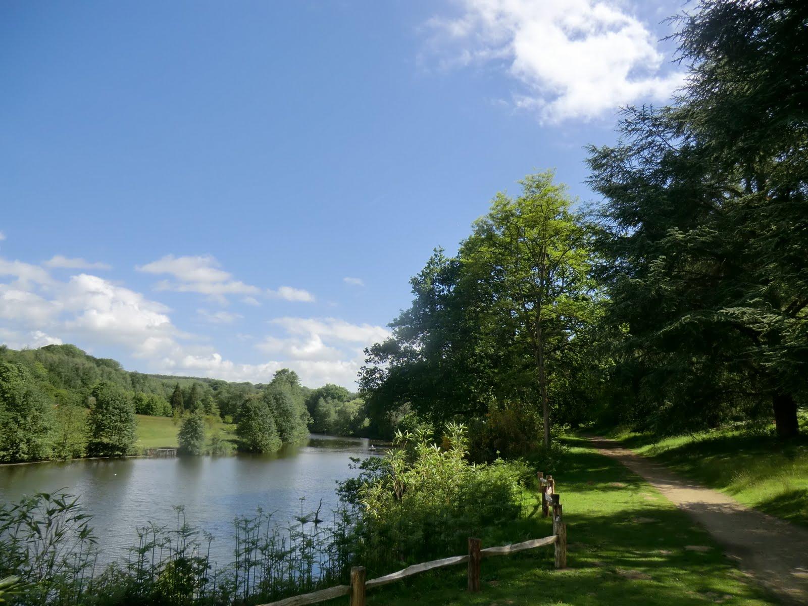 CIMG8420 Lake, Winkworth Arboretum