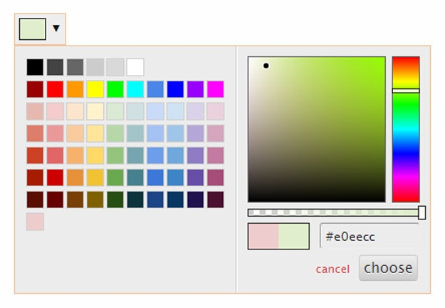 Spectrum.js