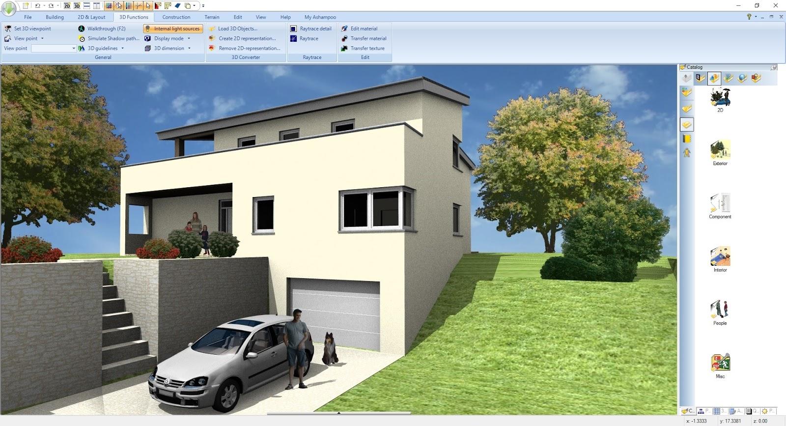 Ashampoo Home Design 5.0.0 Türkçe