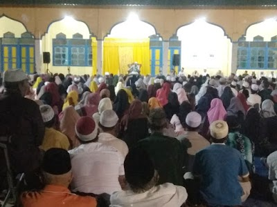 Tausiah di Bangkuang, Ustaz Al Ghifari Sampaikan Pesan Alam Kubur