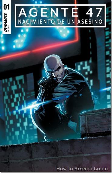 Agent 47 - Birth of the Hitman #1 (2017) - página 1