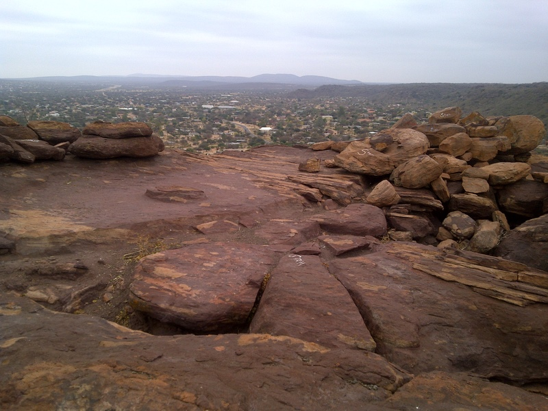 On top of Phapane Hill