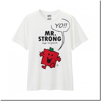 UNIQLO Mr. Men Little Miss UT Graphic T-Shirt man 08
