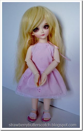 Pretty and Pink: From Dress to Cute Skirt and More: Cute doll halter dress