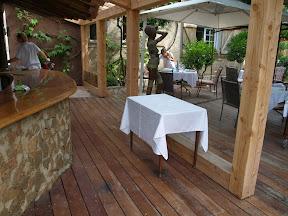 Restaurant les Cabries Grimaud mai 2009