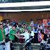 PAC GP Ansor Jabung Bagikan Sandal Jepit di Acara Safari Romadhon