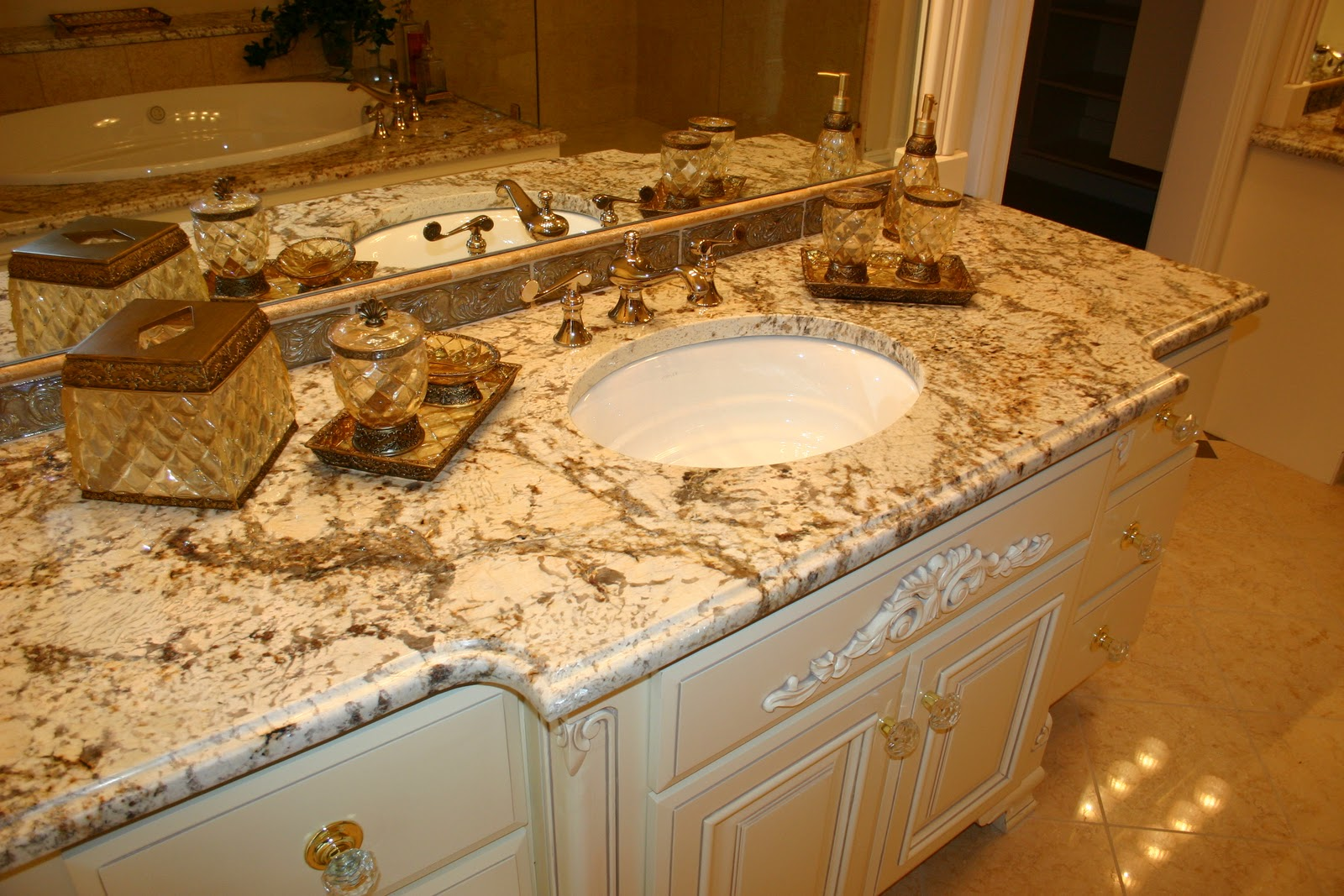 The Granite Gurus Bathroom Vanities From Our Portfolio