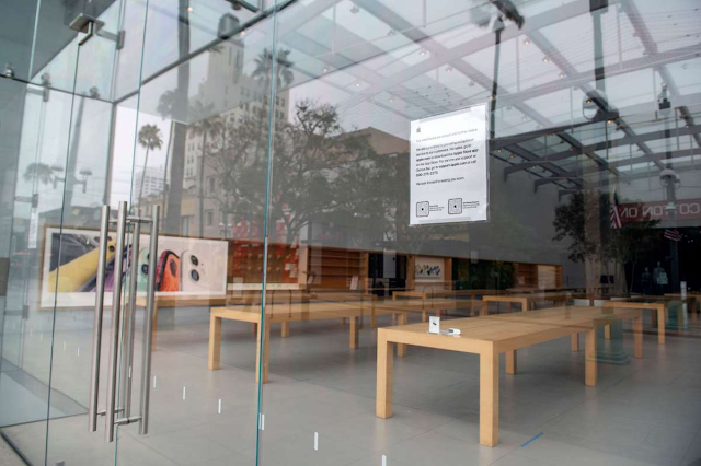 Apple closes all California stores as COVID cases rise