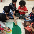 Diwali Celebration by Nursery Morning Section at Witty World, Chikoowadi (2018-19)