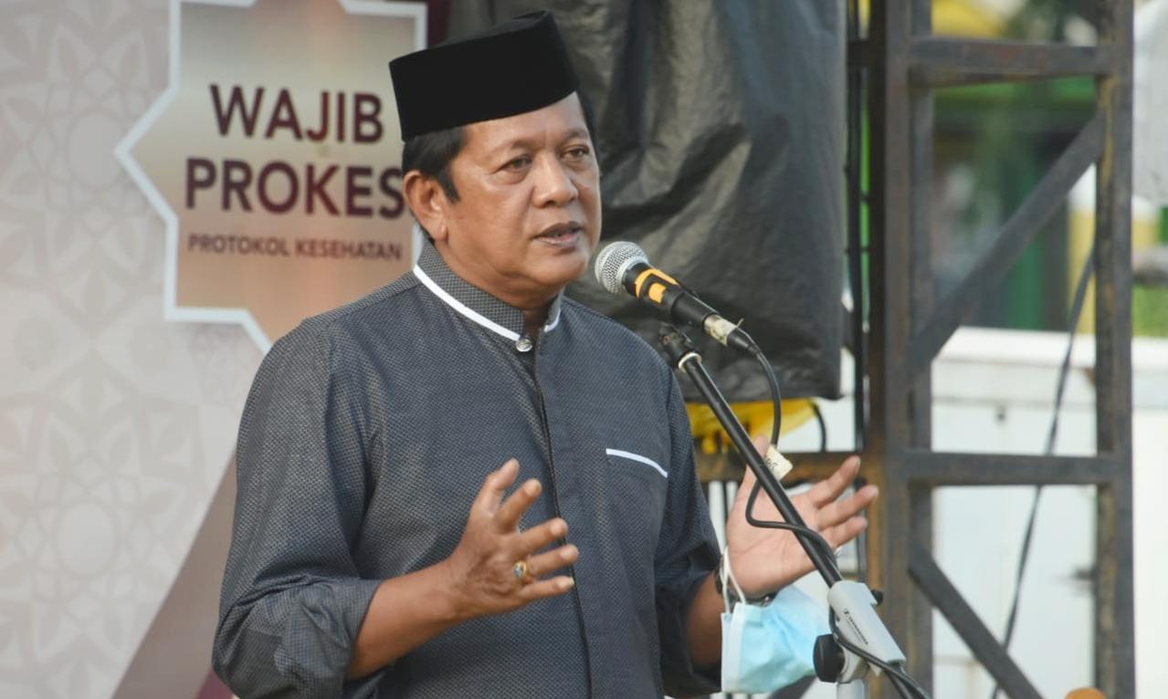Bupati HA.Kaswadi Razak Resmi Menutup Kegiatan Ramadhan Fest Soppeng 2021