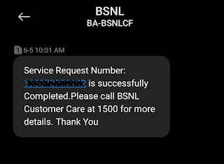 Update contact mobile number and Email ID of BSNL Telephone & Broadband Internet Connection Online