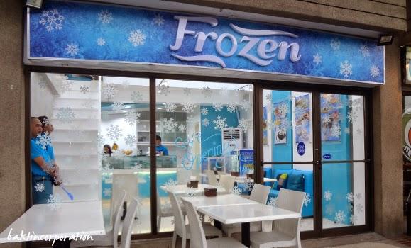 frozen snack bar