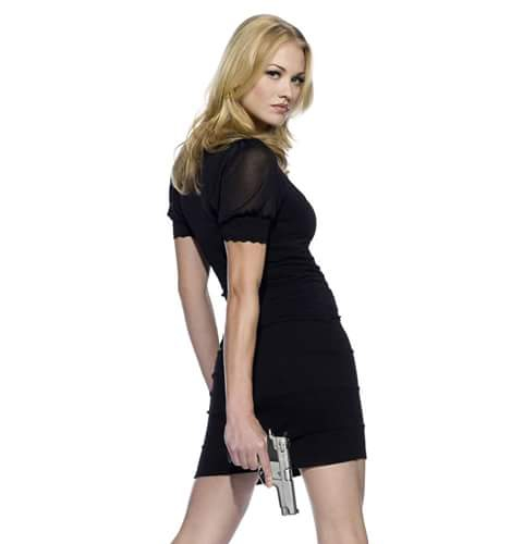Australian Actress Yvonne Strahovski Dp