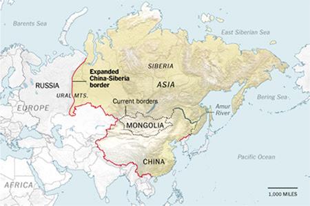 Chiny Rosja Dlaczego Chiny Chca Odzyskac Syberie Nasze Blogi