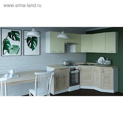 Кухонный гарнитур Камилла мега оптима 2100*1500