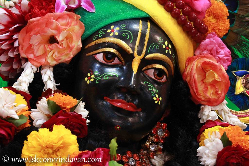ISKCON Vrindavan Sringar Deity Darshan 01 Mar 2016 (20)