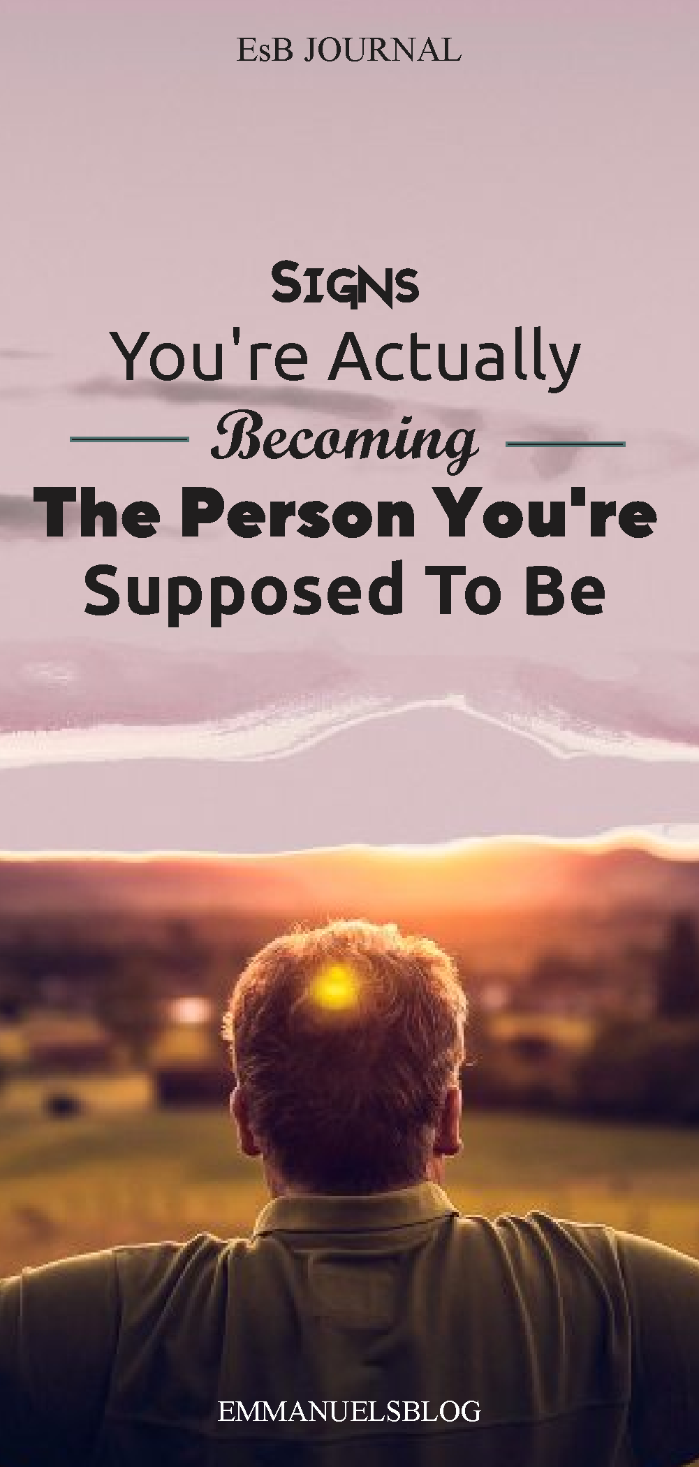 Signs You're Actually Becoming The Person You're Supposed To Be In 2021
