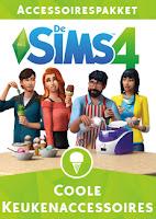 De Sims 4 Coole Keukenaccessoires boxart