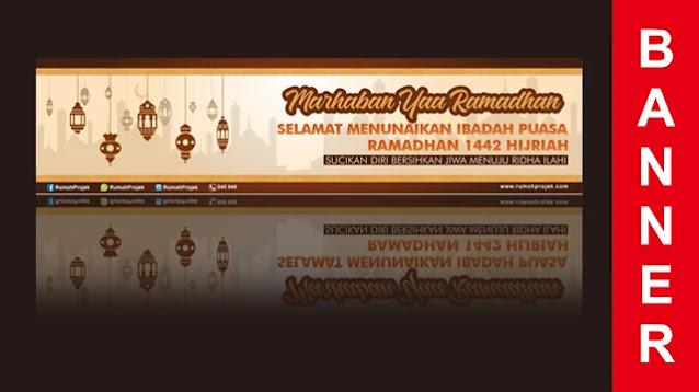 Download Desain Spanduk Ramadhan Corel Draw Gratis