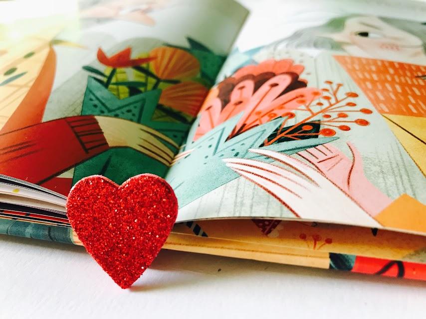 Amor en una caja de cartón álbum ilustrado