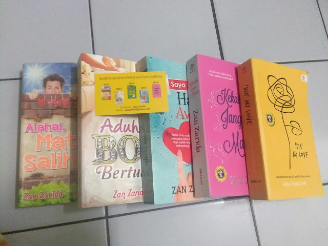 Koleksi Novel Tulisan Zan Zarida