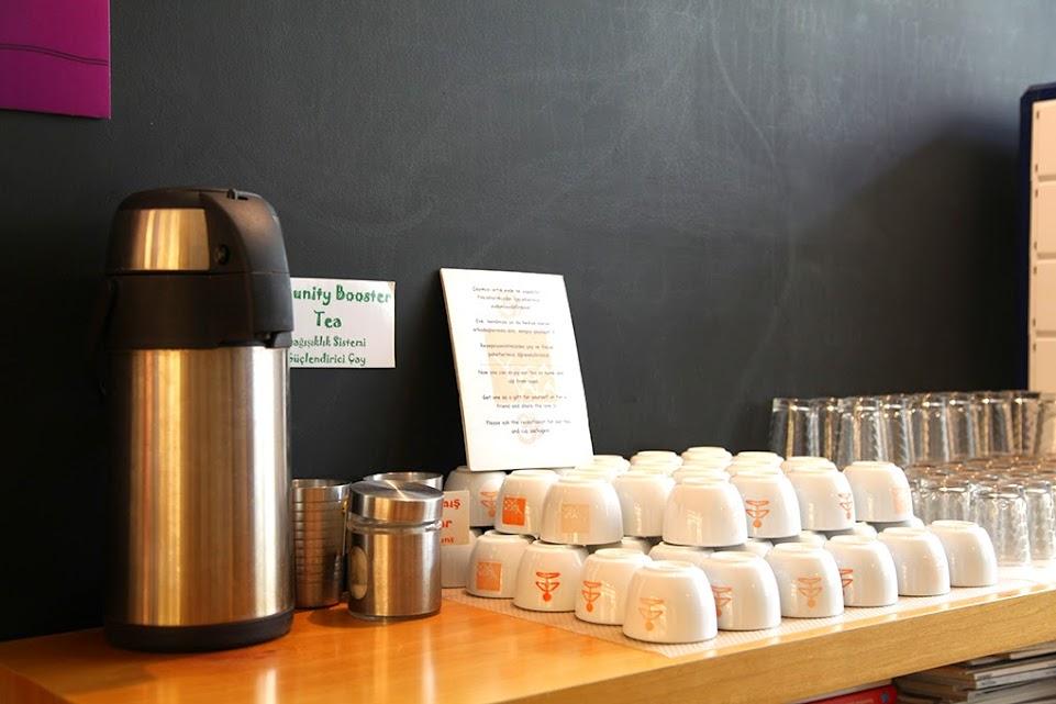yogasala tea table