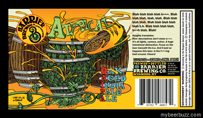 Image result for barrier atypical oak aged ipa