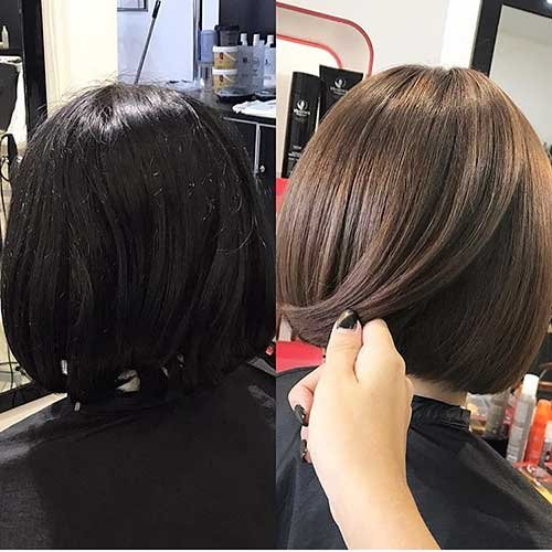 Mais populares penteado recentemente, bob cortes de cabelo