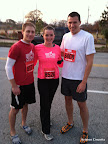 Mike, me, and Steve before the race.