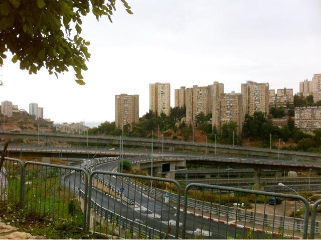 Vue Haïfa Israël