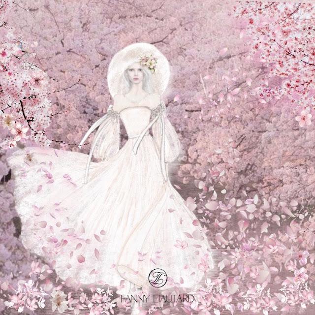 Fanny Liautard Paris, robe de mariée créateur , sur-mesure, robe de mariée fluide, robe de mariée romantique,
