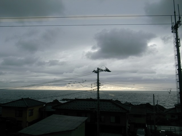 きらきらうえつ車窓景色日本海