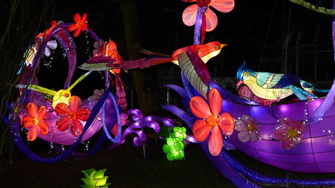 Birmingham Botanical Gardens Magical Lantern Festival