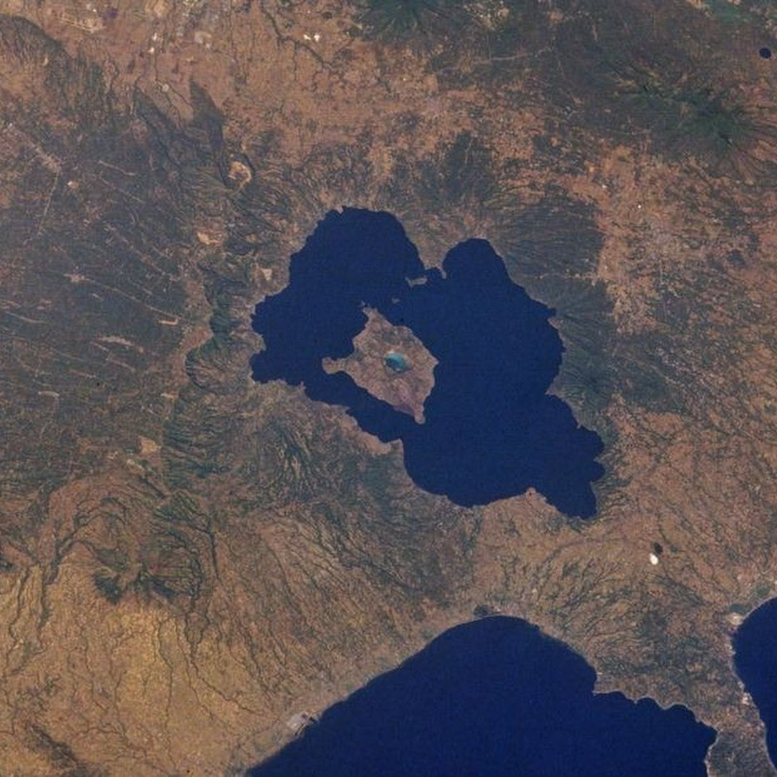 The Island in a Lake on an Island in a Lake on an Island