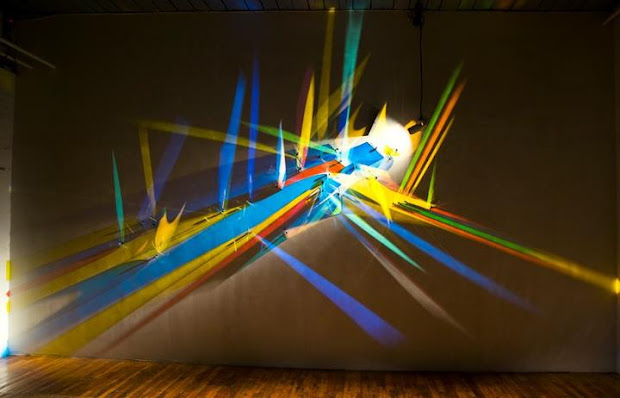 Lightpainting by Stephen Knapp