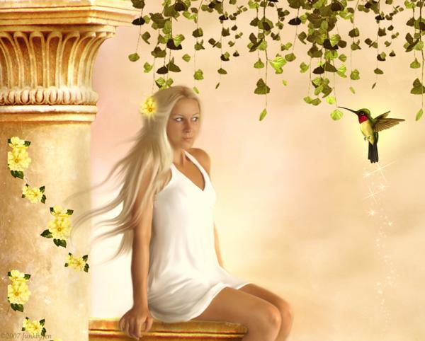 A Bird And A Girl, Magic Beauties 3