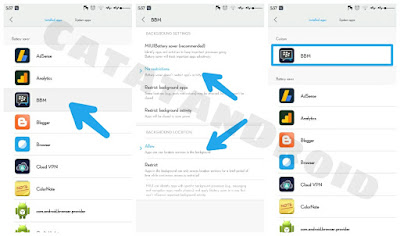 3 Metode Bagaimana Cara Fix Agar BBM & Whatsapp Tidak Mati Sendiri