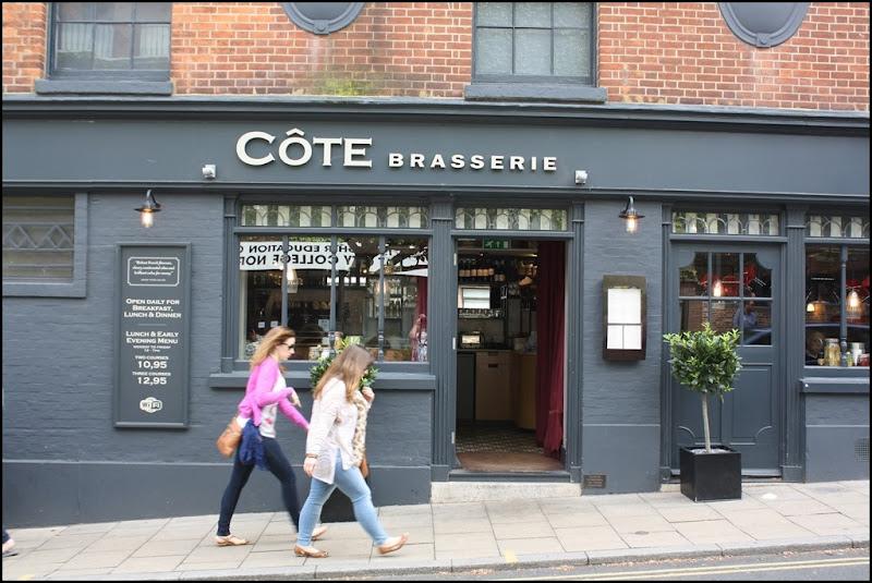 Cote Brasserie, Exchange Street, Norwich