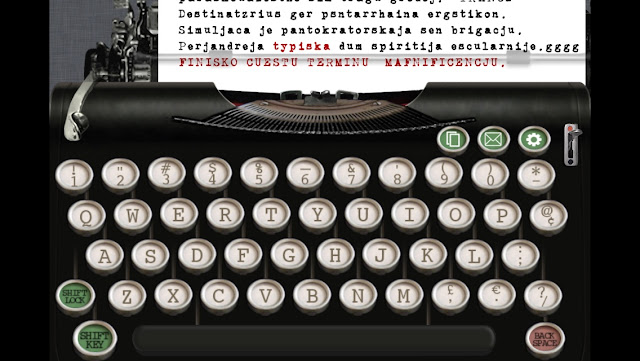The Typewriter Revolution blog: Typewriter simulation apps: a mini