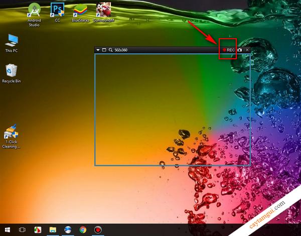 Hướng dẫn quay phim màn hình desktop trên máy tính