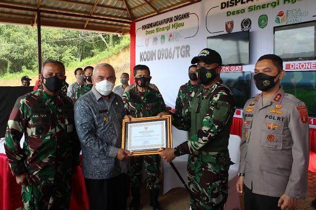 Gubernur Kaltim Nobatkan Kodim 0906 Tenggarong Sebagai Kodim Kreatif dan Inovatif