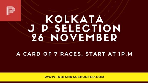 Kolkata Jackpot Selections 26 December