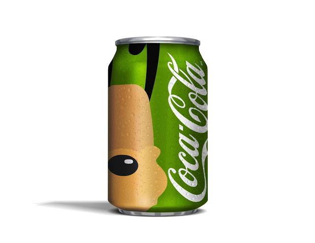 Disney y Coca-Cola unidos en la creación de un magnífico concepto de packaging