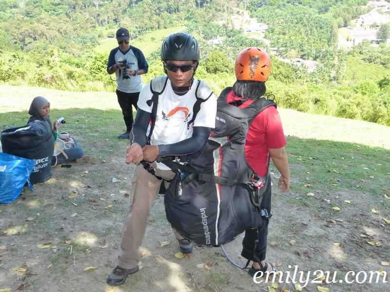 Bukit Jugra paragliding